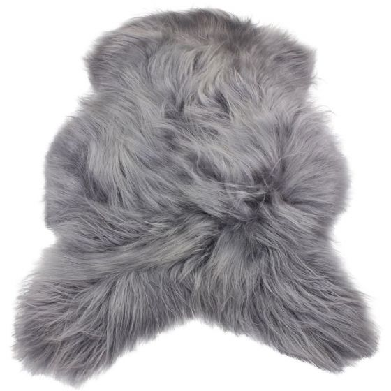 Icelandic Sheepskin Rug  - Grey